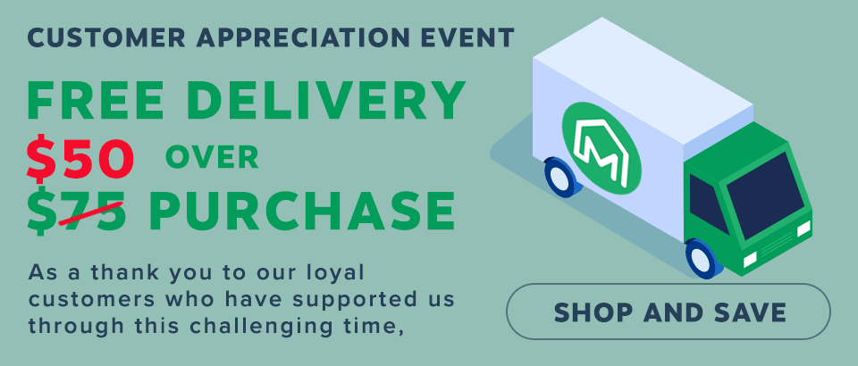 Free Shipping Over $50 Purchase