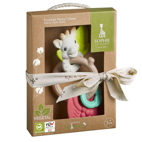 Natur'Chew Rattle - So'Pure Collection