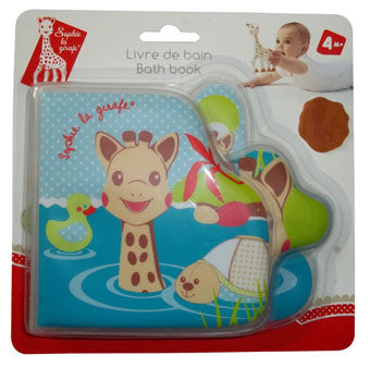 Sophie la girafe Bath Book - Fresh Touch Collection