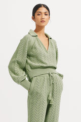 Quincy Sweater - Sage - steele label ?id=28054451191947