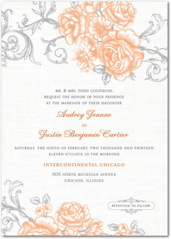 20 Wedding Invitations - Variants + Small Text + Large Text