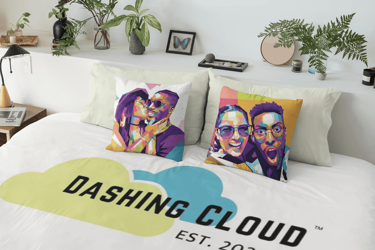The Dashing Cloud Pillow