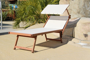 Outdoor Chaise Lounge - Aluminum