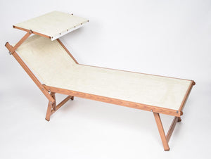 Outdoor Chaise Lounge - Woodgrain
