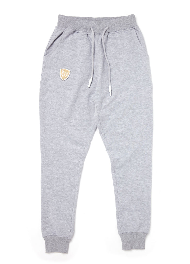 Member Collection GREY JOGGER with gold logo