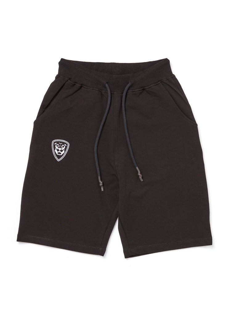Premium Collection BLACK SHORTS with white logo