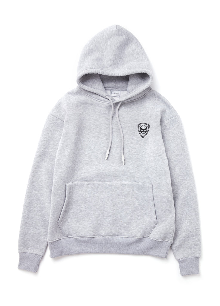 Premium Collection GREY HOODIE with black logo