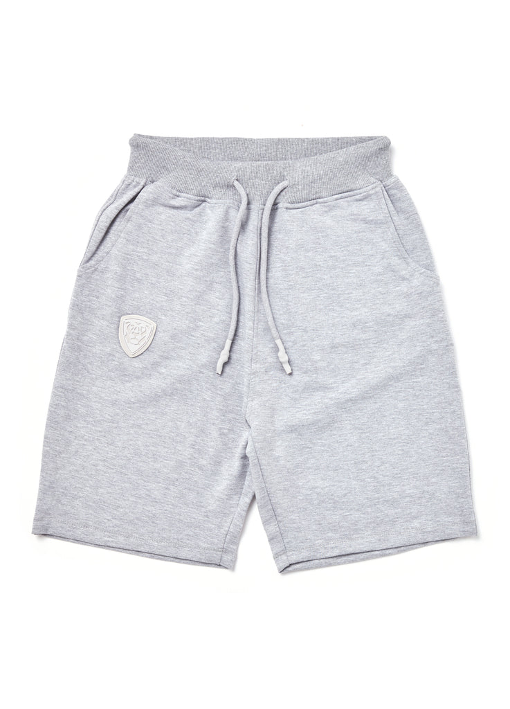 Member Collection GREY SHORTS with white logo