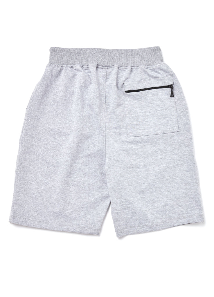 Premium Collection GREY SHORTS with black logo