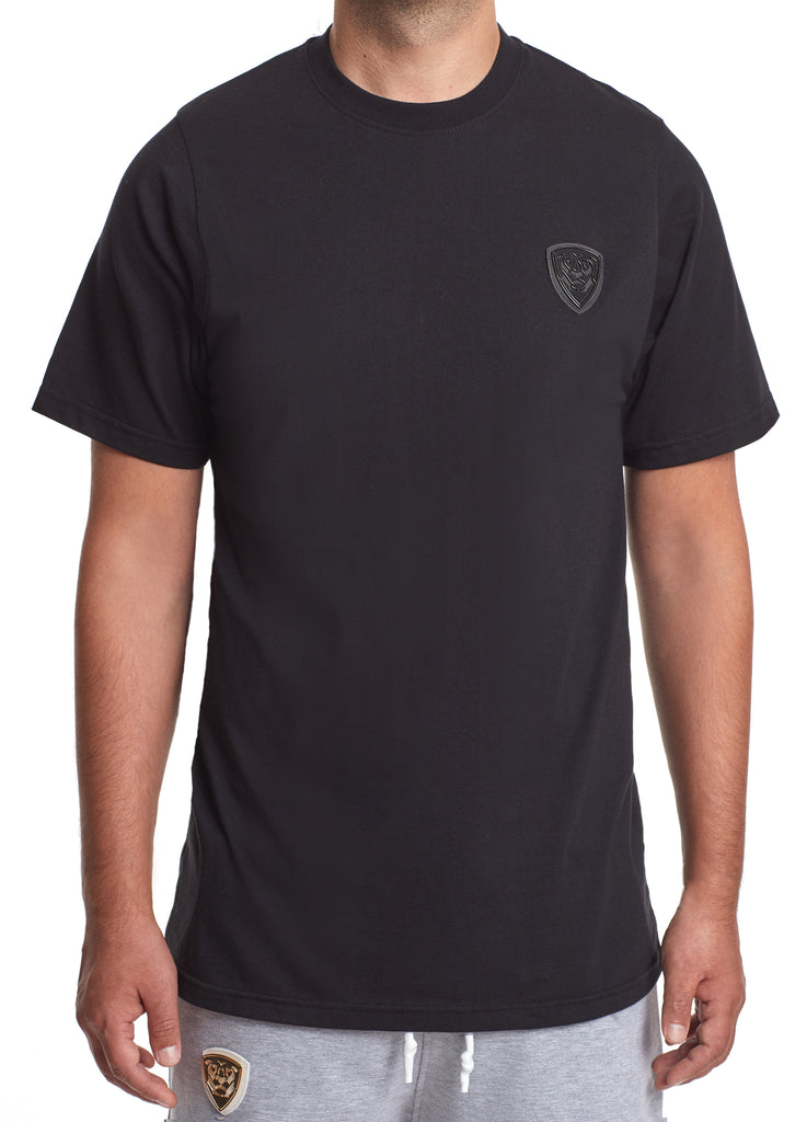 Member Collection BLACK T-SHIRT with black logo