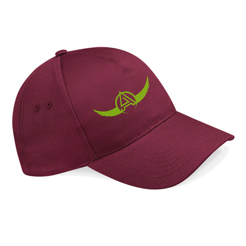 Artisan 5 Panel Cap Burgundy