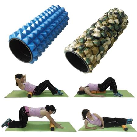 FITNESS EXERCISE THERAPY YOGA FOAM ROLLER