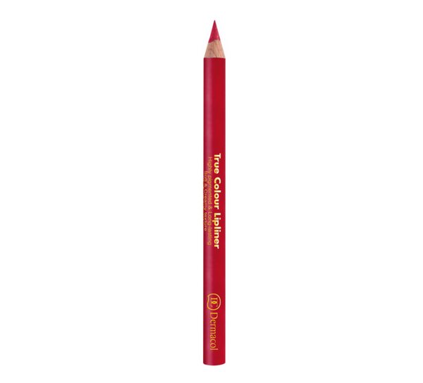 Dermacol TRUE COLOUR LIPLINER - LONG-LASTING WOODEN LIPLINER