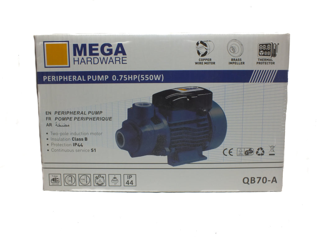 Peripheral Pump 0.75HP (550W)