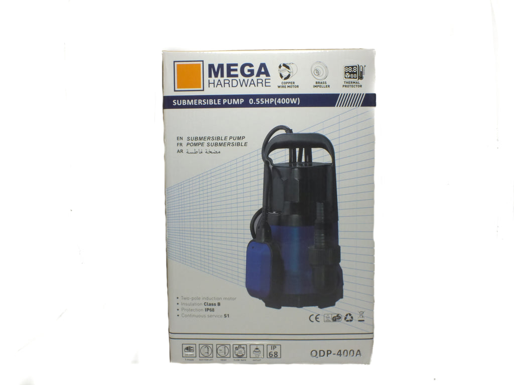 Submersible Pumps _0.55 Hp (400w )