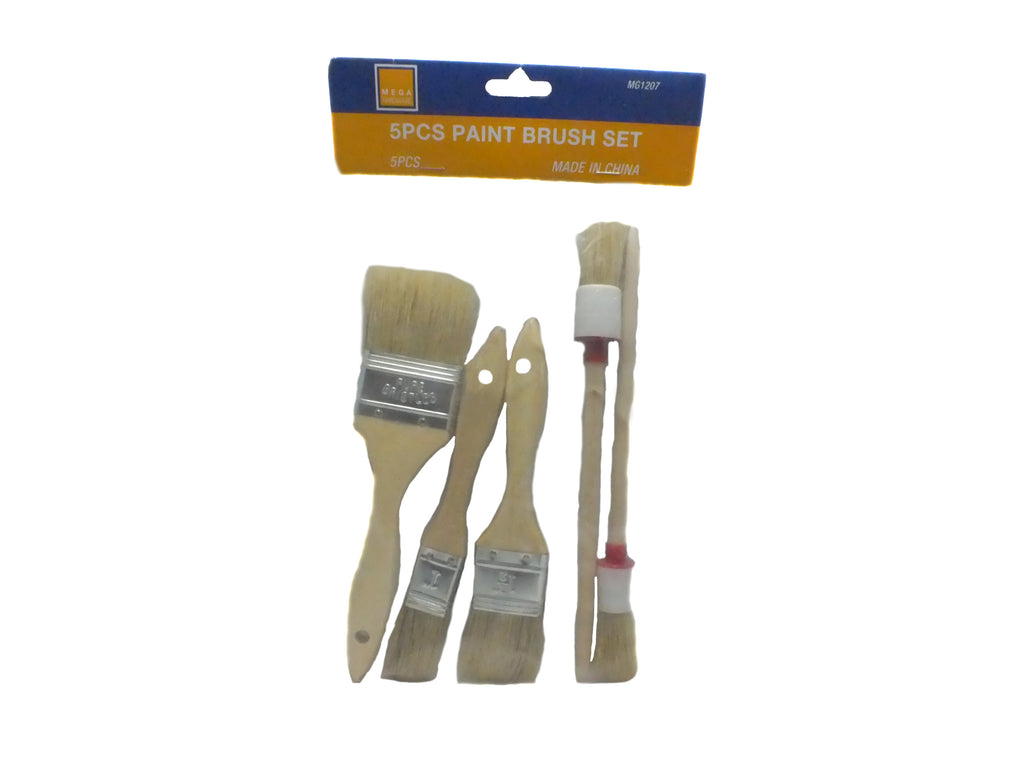 Paint Brush (5 Pcs Paint Brush Set)