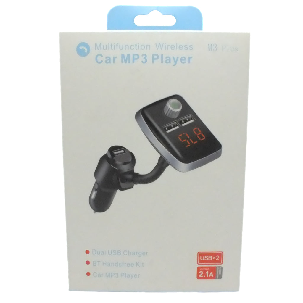Multifunction Wireless Car MP3 Player with Charger