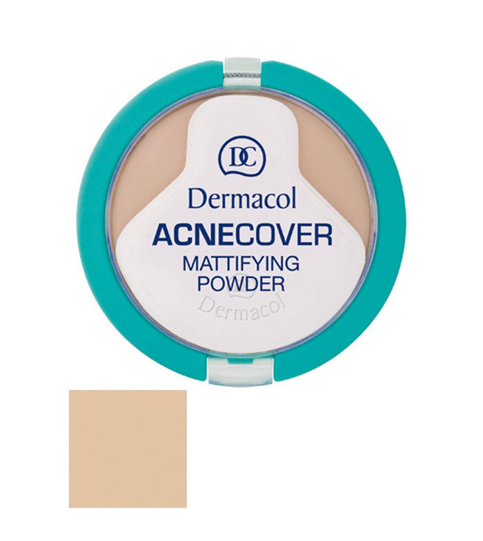 Dermacol ACNECOVER MATTIFYING POWDER COMPACT MATTIFYING POWDER FOR PROBLEMATIC SKIN