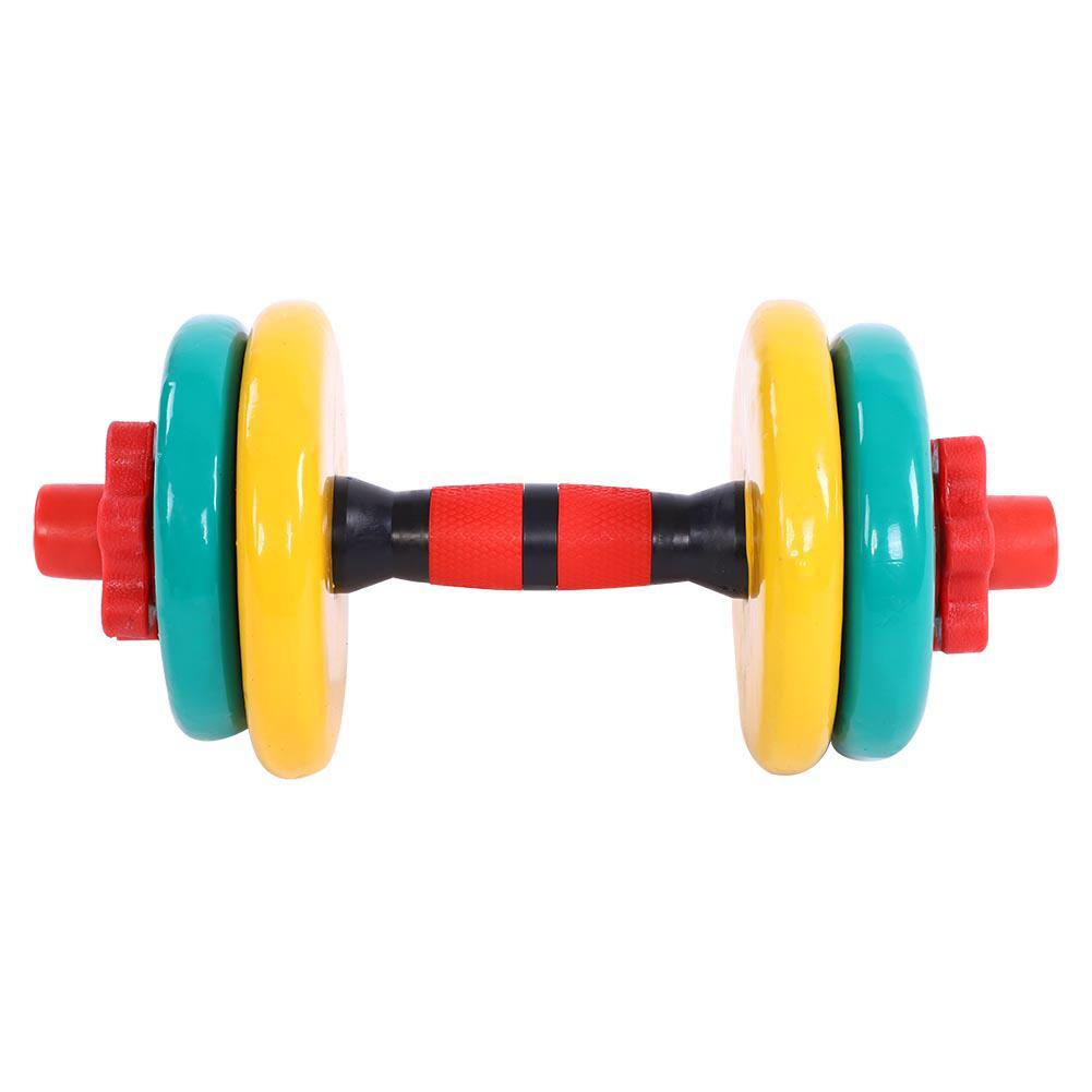Adjustable Weight Rubber Colored Dumbbell