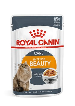 Intense Beauty Jelly Wet, Cat Complete feed for adult cats (thin slices in jelly).