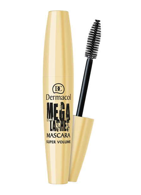 DERMACOL MEGA LASHES MASCARA SUPER VOLUME MASCARA WITH PANORAMIC EFFECTS