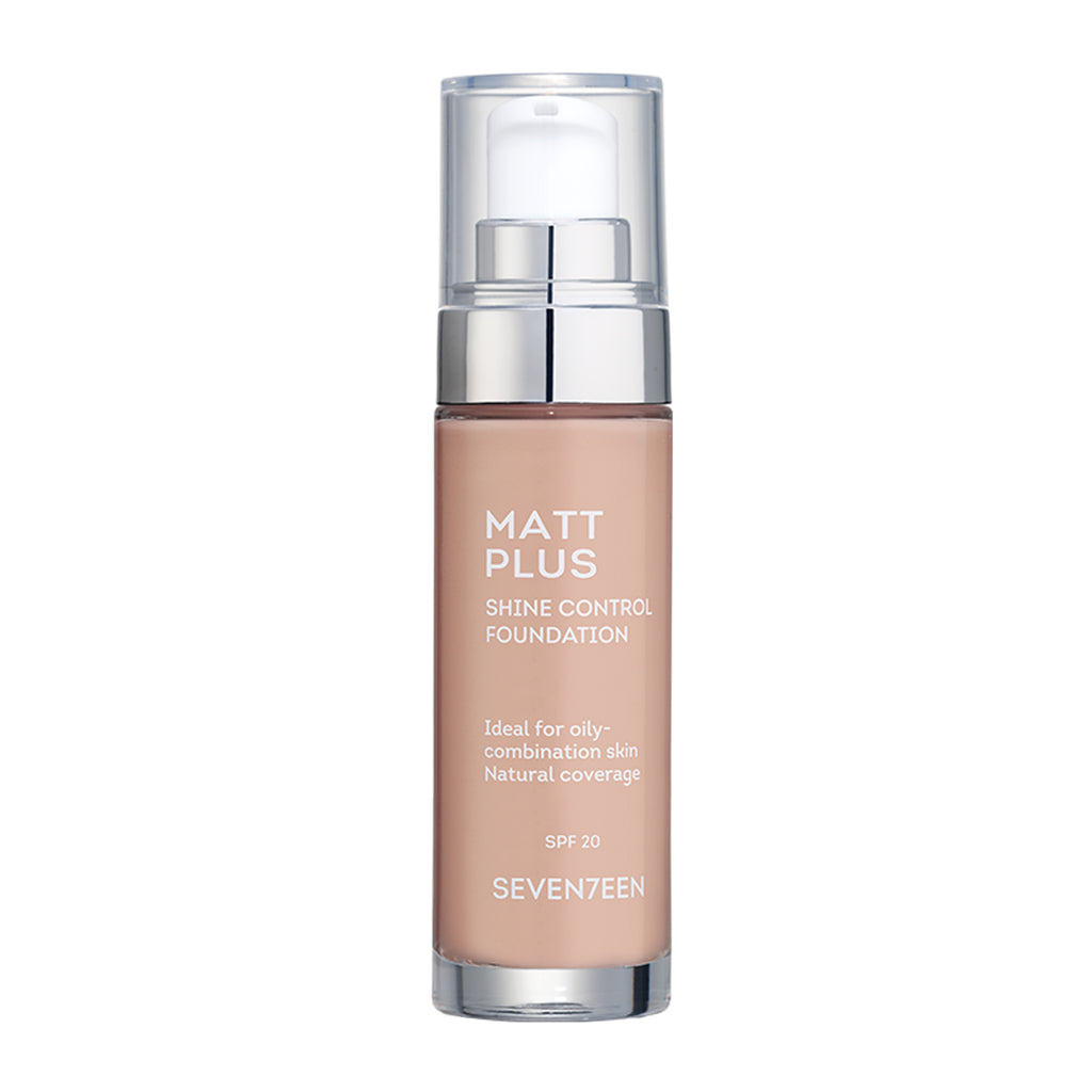 MATT PLUS LIQUID FOUNDATION SPF20