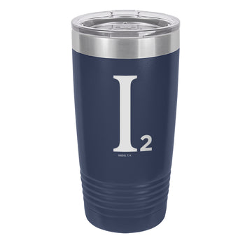 Industrial Illusions Logo - Laser Etched Drinkware