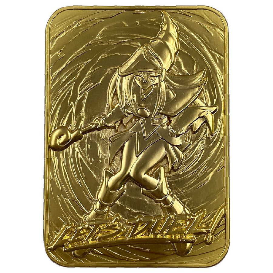 Dark Magician Girl Collectible 24K Gold Plated Metal Card - Ships April 2021. Pre-orders End January 31st.