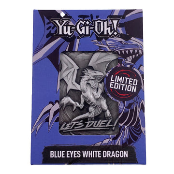 Yu-Gi-Oh! Blue-Eyes White Dragon Metal Card - Ships Mid-June 2021. Pre-orders End April 30.