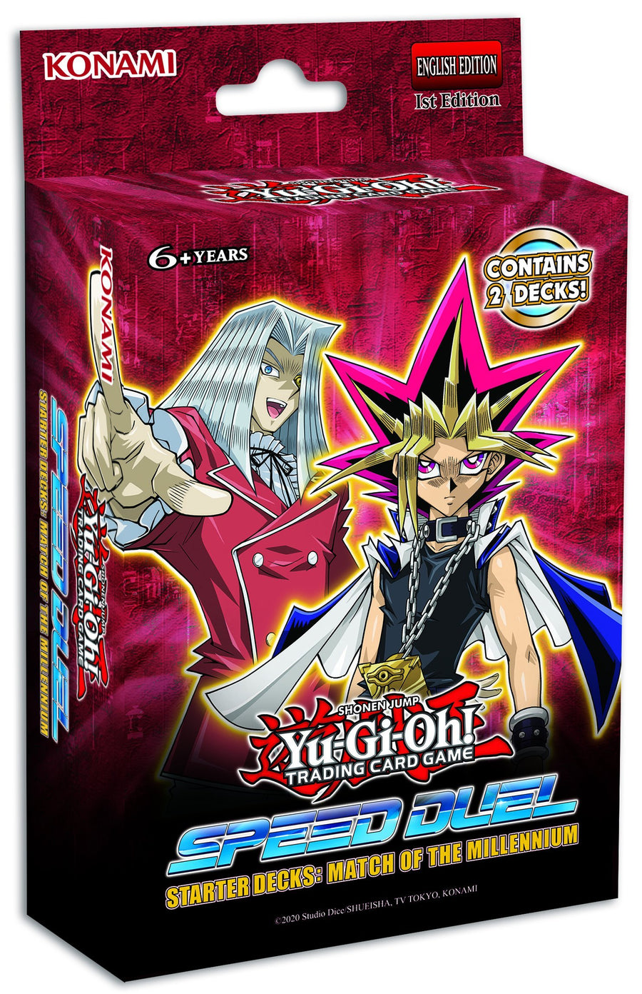 Yu-Gi-Oh! TRADING CARD GAME Speed Duel Starter Decks: Match of the Millennium & Twisted Nightmares