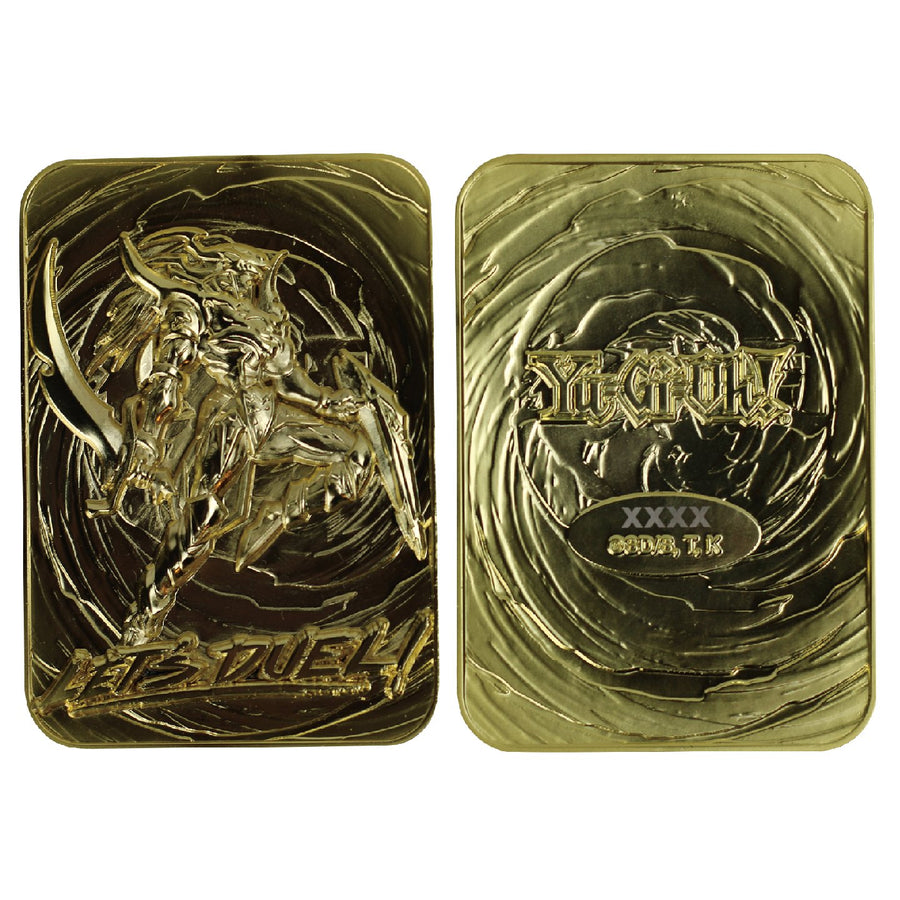 Yu-Gi-Oh! Black Luster Soldier 24K Gold Plated Limited Edition Collectible - Ships August 2021 - Pre-orders end April 17, 2021