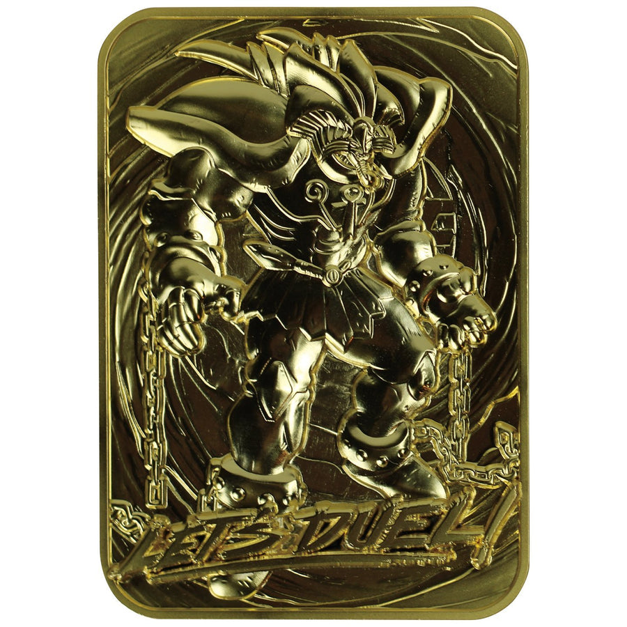 Yu-Gi-Oh! Exodia The Forbidden One 24K Gold Plated Limited Edition Collectible - Ships August 2021 - Pre-orders end April 17, 2021