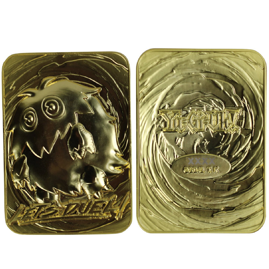 Yu-Gi-Oh! Kuriboh 24K Gold Plated Limited Edition Collectible - Ships August 2021 - Pre-orders end April 17, 2021