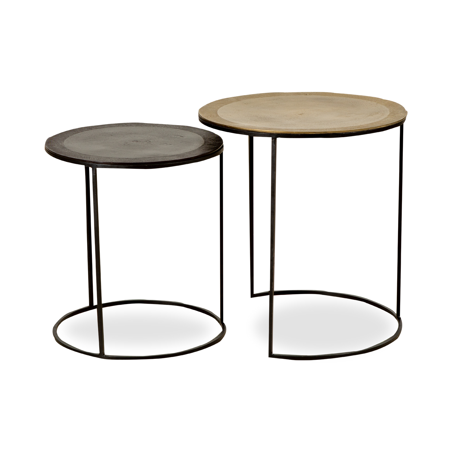Alloy Nesting Pull Up Tables