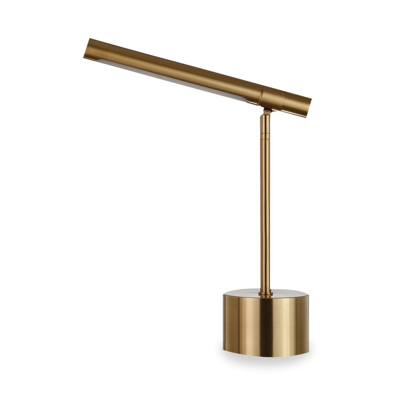 Argon Table Lamp - Antique Brass