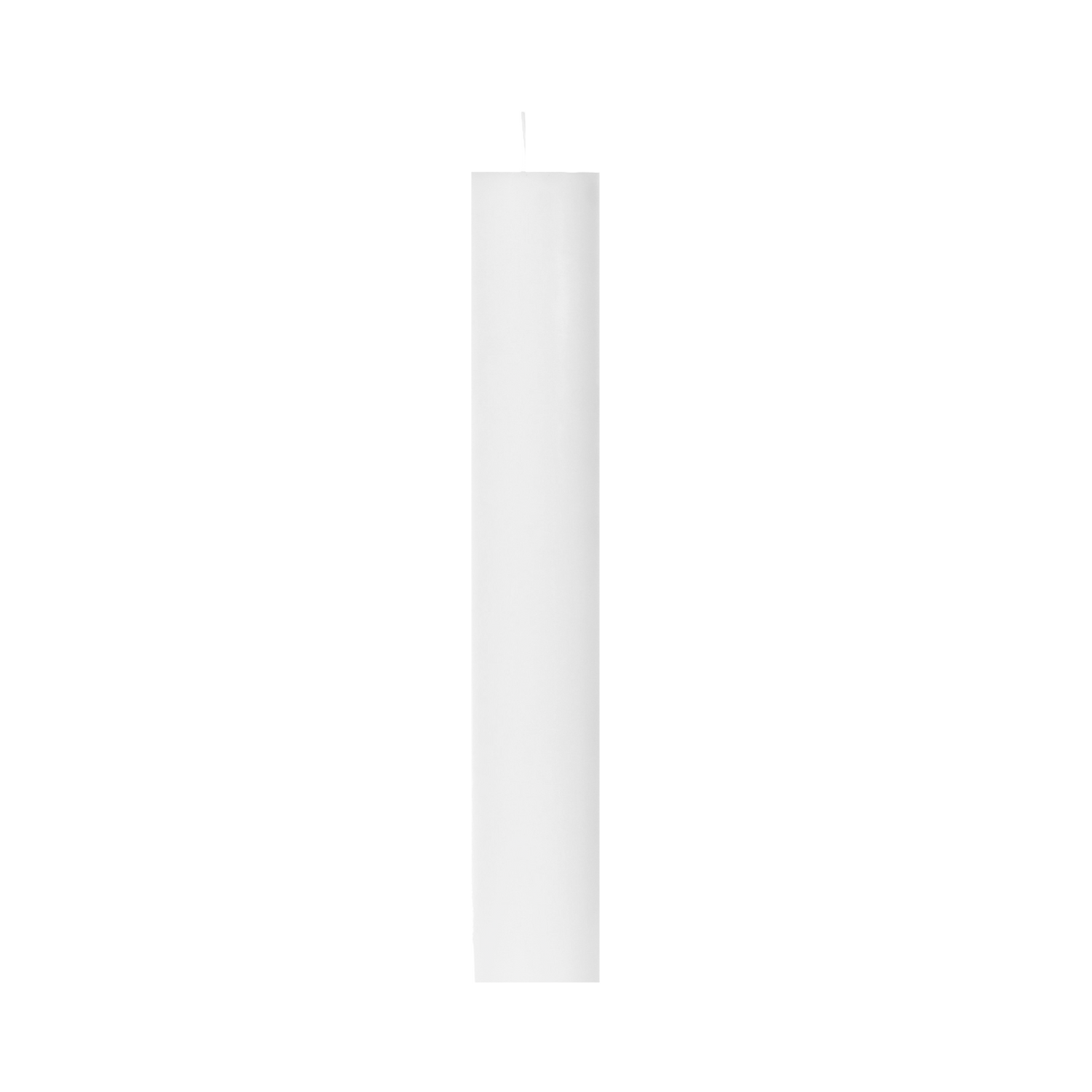 Matte White Candle