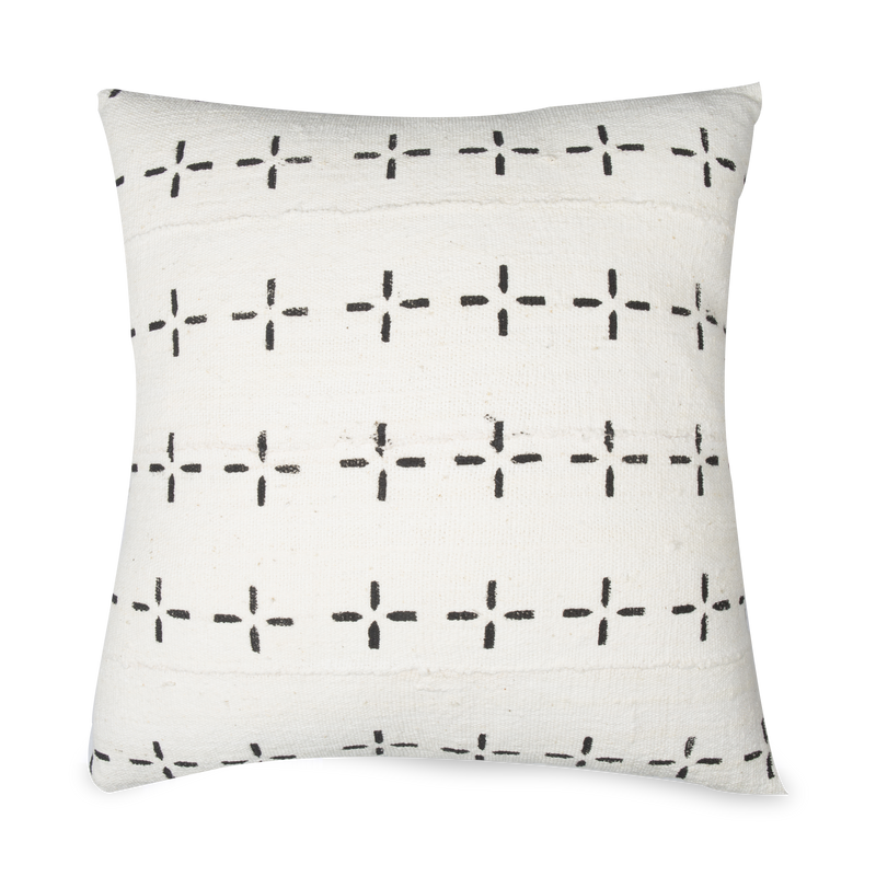 Mudcloth Star Pillow