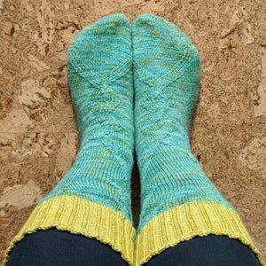 Course: Knitting 2 at a Time, Toe Up, Socks!