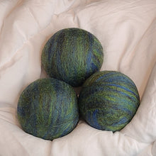 Load image into Gallery viewer, Dryer Balls- Set of 3 Hand Felted Balls - Apatite