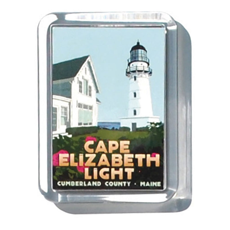 "Cape Elizabeth Light 2"" x 2 3/4"" Acrylic Magnet - Maine"