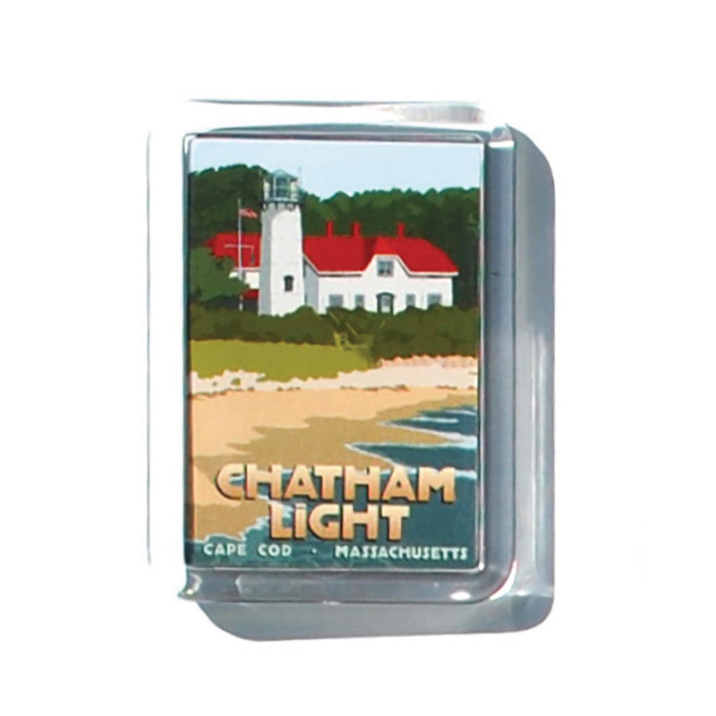 "Chatham Light 2"" x 2 3/4"" Acrylic Magnet - Massachusetts"
