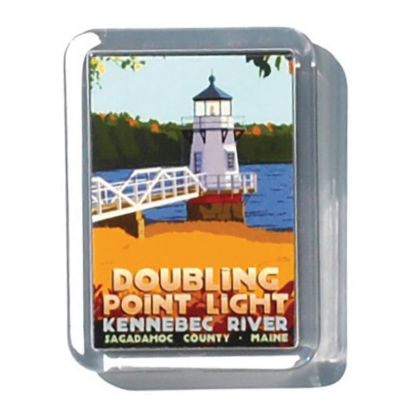 "Doubling Point Light 2"" x 2 3/4"" Acrylic Magnet - Maine"