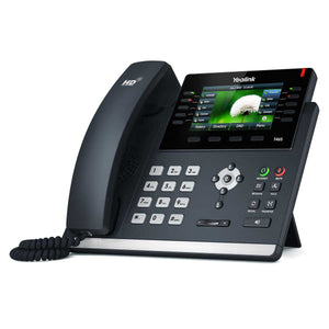 Yealink Gigabit Desktop IP Phone (With Colour Display & PoE) - SIP-T46S