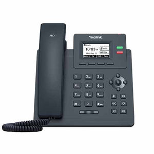 Yealink Gigabit Desktop IP Phone, Excludes PSU - SIP-T31G