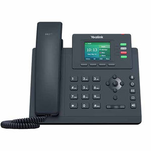 Yealink Gigabit, Colour Screen Desktop IP Phone, Excludes PSU - SIP-T33G