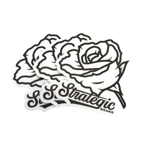Rose Sticker 3-Pack