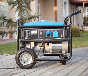 electric portable generator creating power