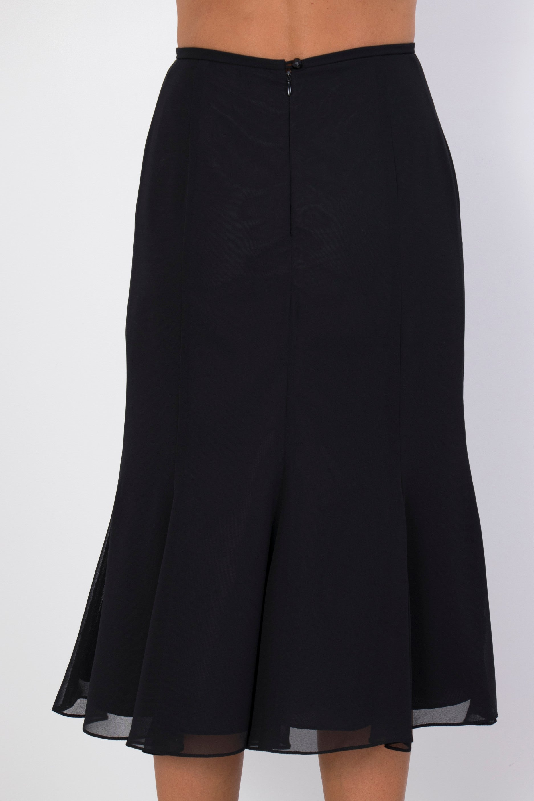 Black Georgie Skirt