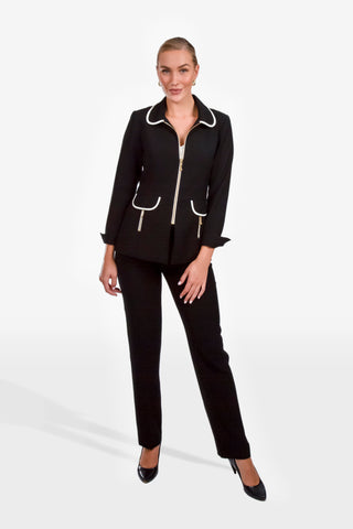 Black Milano Estelle Jacket