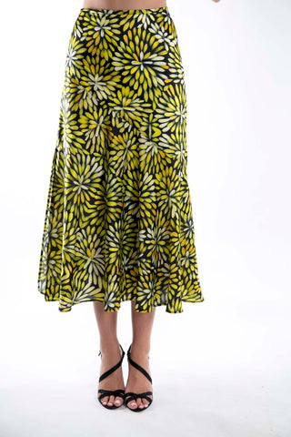 Sunshine Bush Medicine Flowers Skirt
